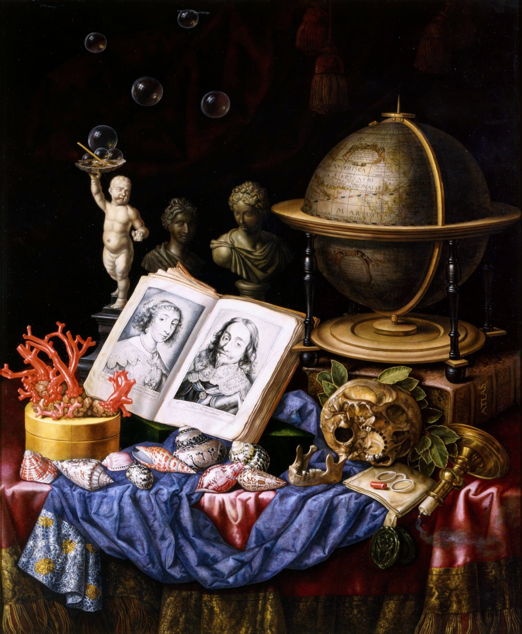 Allegory of Charles I of England and Henriette of France in a Va